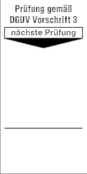 Grundplaketten für Prüfplaketten