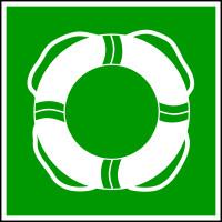 Rettungszeichen, Öffentliche Rettungsausrüstung WSE001 - ASR A1.3 (DIN 4844-2)