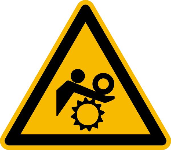 Warnzeichen Warnung vor ungewolltem Einzug