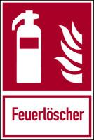 Brandschutzzeichen, Kombischild Feuerlöscher- ASR A1.3 (DIN EN ISO 7010)