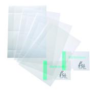 Transparente Folien, 148 x 148 mm - VE = 10 Bögen