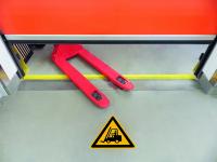 Antirutschbelag / Warnzeichen, Flurförderzeuge, 300 mm, R11 - ISO 7010