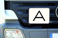 A-Schild für Abfalltransporte, 300x400mm