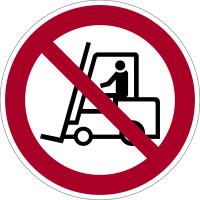 Verbotszeichen, Flurförderzeuge verboten D-P007 - DIN 4844