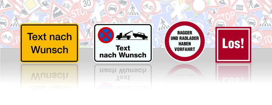 Produkte - Schilder & Etiketten selbst gestalten