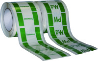 Rohrleitungskennzeichnung, Trinkwasserleitung, Folie - Rolle à 33 m