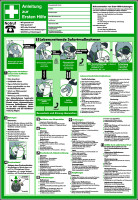 Aushang, Anleitung zur Ersten Hilfe - praxisbewährt