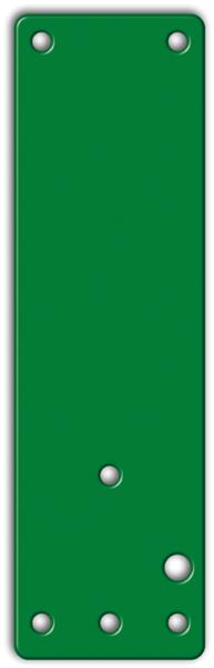 Montageplatte für GfS-Türwächter an Brandschutz- und Vollglastüren