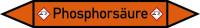 Rohrleitungskennzeichen Phosphorsäure