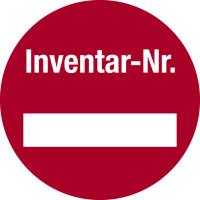 Inventaretiketten, mit Freifeld - VE = 10 Etiketten