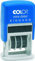 Datumsstempel mit Text, COLOP Mini-Dater S 160/L