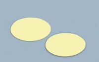 Langnachleuchtende Bodenmarkierungspunkte ohne Pfeil, 1 VE = Bogen à 12 Stk