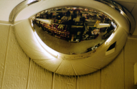 Panorama - 180 Drei- Wege- Spiegel