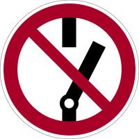 Verbotszeichen, Nicht schalten D-P010 - DIN 4844