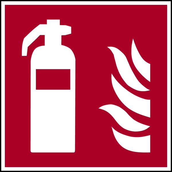Brandschutzzeichen, Feuerlöscher F001 - ASR A1.3 (DIN EN ISO 7010)
