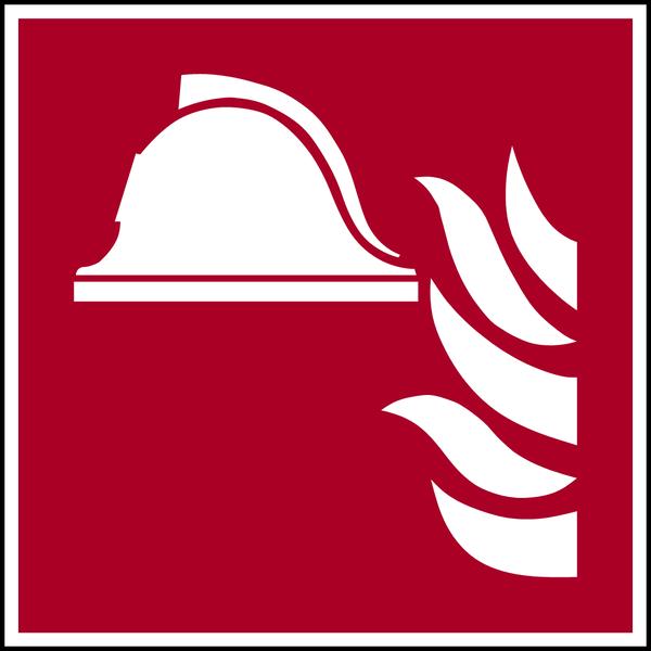 Brandschutzzeichen, Mittel und Geräte zur Brandbekämpfung F004 - ASR A1.3 (DIN EN ISO 7010)