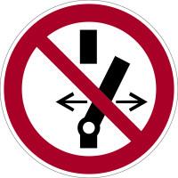 Verbotszeichen, Nicht schalten P031 - ASR A1.3 (DIN EN ISO 7010)