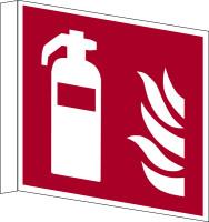 Brandschutzzeichen, Fahnen-/Nasenschild Feuerlöscher - ASR A1.3 (DIN EN ISO 7010)