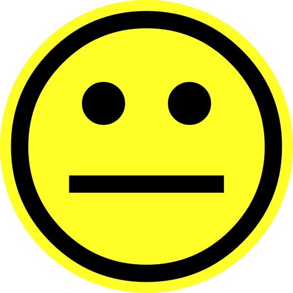 Bildergebnis für smiley neutral