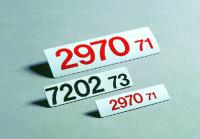 Lagerkennzeichnung, Magnetfolie, Beschriftung nach Wunsch