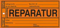 Papieretikett: Reparatur - VE = 100 Stk.