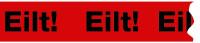"""Paketband, """"Eilt!"""" - VE = Rolle à 66 m"""