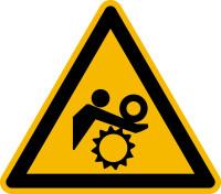 Warnschild, Warnung vor ungewolltem Einzug - praxisbewährt