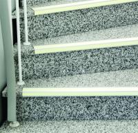 Antirutsch Treppenkantenprofil, Safety-Stair, langnachleuchtend, Aluminium, 60 x 1000 mm