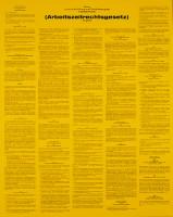 Aushang, Arbeitszeitgesetz (ArbZG)