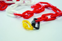 Schraubkettenglied für Kunststoffketten