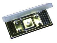 Schraubhalter aus Edelstahl 1.14016 Simplex