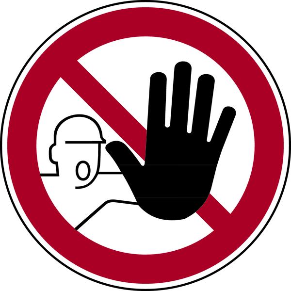Verbotsschilder gem. ASR A1.3 (DIN 4844)