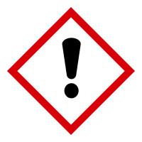 Gefahrstoffkennzeichnung GHS 07: dickes Ausrufezeichensymbol - Rolle à 500 Stück