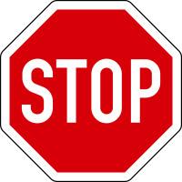 Verkehrszeichen - Halt Vorfahrt gewähren (Stoppschild), Zeichen 206