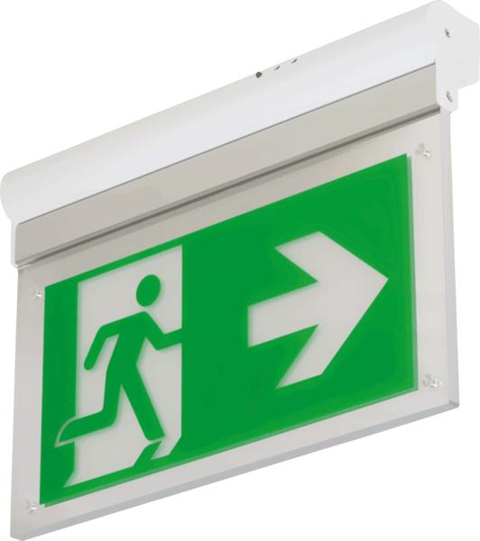 Rettungszeichen- und Notleuchten gem. ASR A3.4/3 und DIN EN 60598-2-22