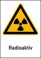 Strahlenschutzzeichen gem. DIN 25430