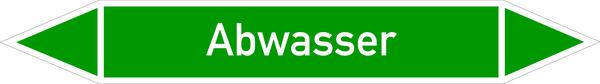 Rohrleitungskennzeichnung: Wasser