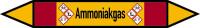 Rohrleitungskennzeichen Ammoniakgas