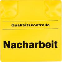 Magnetpad gelb, 110x110mm, Nacharbeit