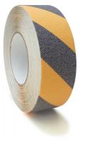 Antirutschband, Safety-Floor Basic, schwarz/gelb, R13 - VE = Rolle à 18,3 m