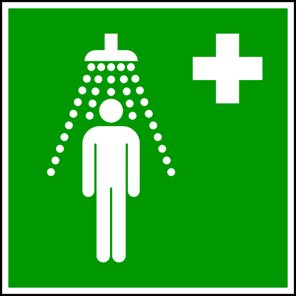 Rettungszeichen, Notdusche E012 - ASR A1.3 (DIN EN ISO 7010)