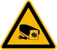 Warnschild, Warnung vor Videoüberwachung - praxisbewährt