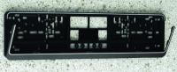 KFZ-Kennzeichenhalter - schwarz