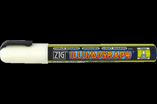 Kreidestift, Illumigraph, weiß