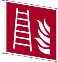 Brandschutzzeichen, Fahnen-/Nasenschild Feuerleiter F003 - ASR A1.3 (DIN EN ISO 7010)