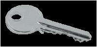 Ersatzschlüssel für Absperrpfosten mit Zylinderschloss