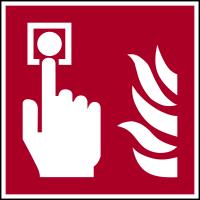 Brandschutzzeichen, Brandmelder F005 - ASR A1.3 (DIN EN ISO 7010)