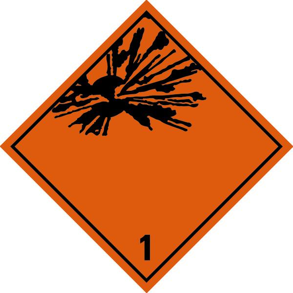 Gefahrzettel (Placards) gemäß ADR/IMDG/IATA