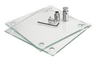 Transparente Laserdruckfolie für Schilderformat 200 x 130 mm - VE = 10 Stück