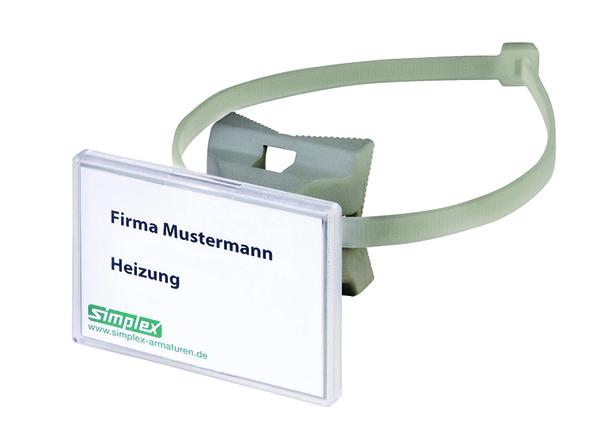 Simplex - Bezeichnungssystem für Rohrleitungen